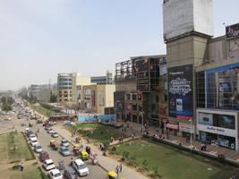 デリー近郊 開発が進むグルガオン市
